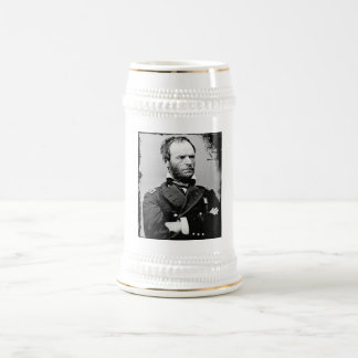 William T. Sherman Beer Stein 18 Oz Beer Stein
