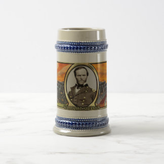 William T. Sherman Civil War Stein