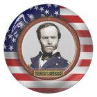 William Tecumseh Sherman Civil War Plate