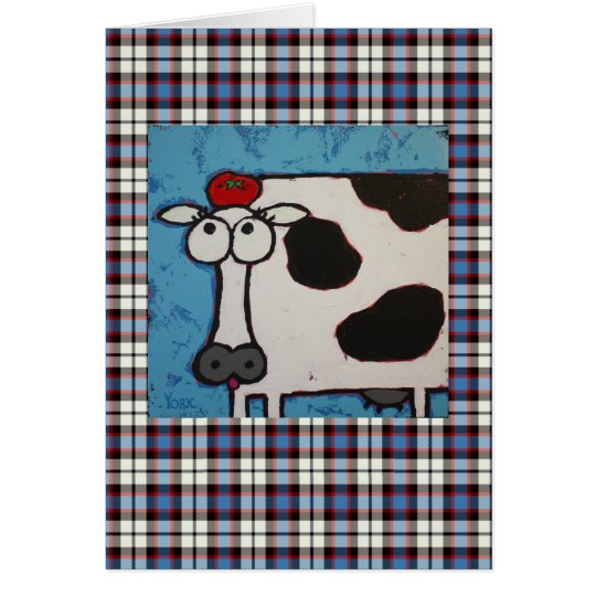 William Tell Cow card