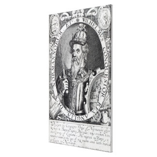 William the Conqueror, 1618 Canvas Print