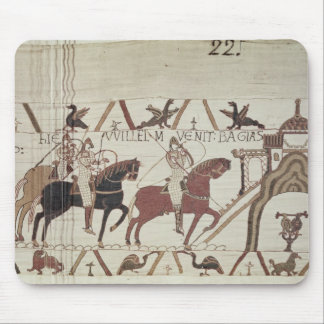 William the Conqueror  arrives at Bayeux Mouse Mat