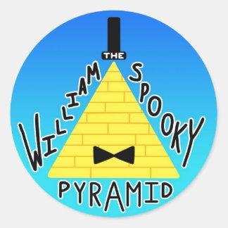 """William the SPOOKY Pyramid"" sticker 2"