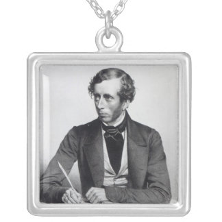 William Thompson  1849 Silver Plated Necklace