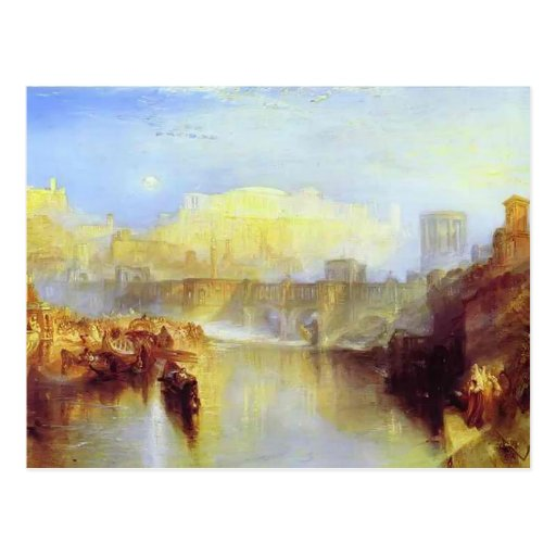 William Turner- Ancient Rome Agrippina Post Cards