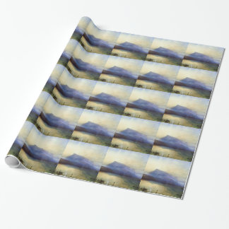 William Turner- Blue Rigi Lake of Lucerne Sunrise Wrapping Paper
