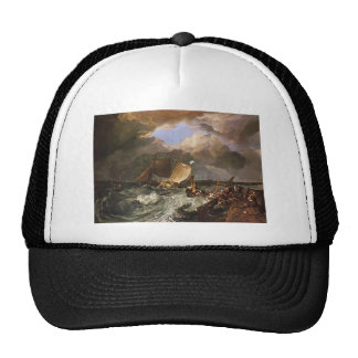 William Turner- Calais Pier, with French Poissards Mesh Hat