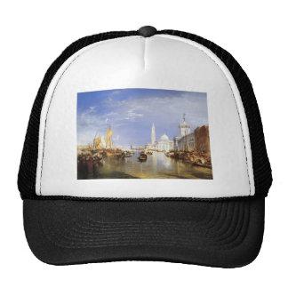 William Turner- Dogana and San Giorgio Maggiore Mesh Hat