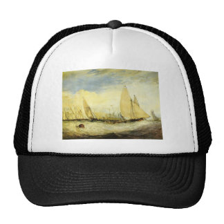 William Turner- East Cowes Castle Trucker Hat