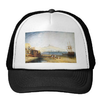 William Turner- Scarborough Town and Castle Trucker Hat