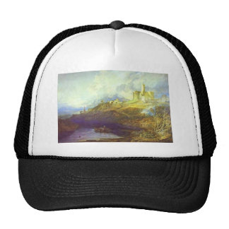 William Turner- Storm Approaching at SunSet Trucker Hat