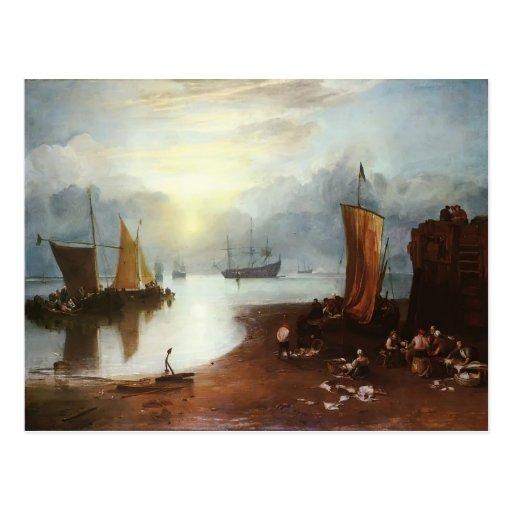 William Turner- Sun Rising through Vagour Postcard