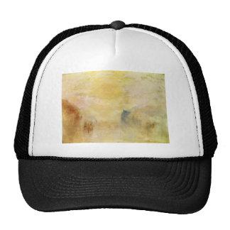 William Turner- Sunrise, a Boat between Headlands Mesh Hats