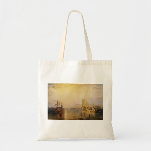William Turner:Sunrise, Whiting Fishing at Margate Tote Bags