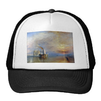 William Turner Temeraire tugged to last berth Mesh Hat
