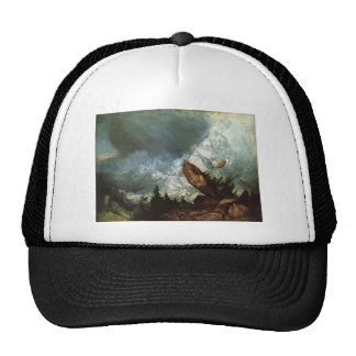 William Turner- The Fall of an Avalanche,Grisons Trucker Hat