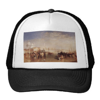 William Turner- Venice, seen from Giudecca Canal Trucker Hat