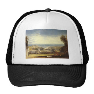 William Turner- View from the Terrace of a Villa Trucker Hat