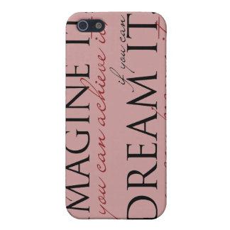 William Ward Imagine Quote iPhone 5 Cover