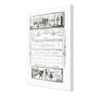 William Woodward, Nightman, Carman and Chimney Swe Canvas Print