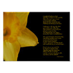 William Wordsworth Daffodils Poster