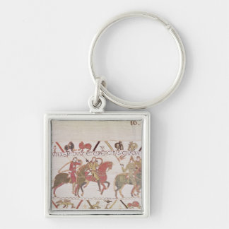 William's  army going to Mont Saint-Michel Key Ring