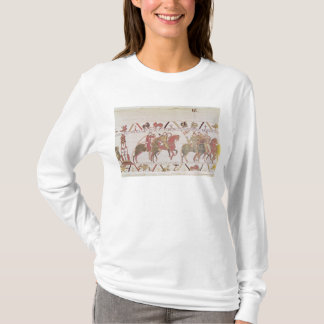William's  army going to Mont Saint-Michel T-Shirt