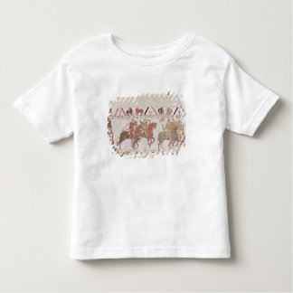 William's  army going to Mont Saint-Michel Toddler T-Shirt