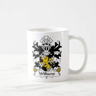 Williams Family Crest Coffee Mug