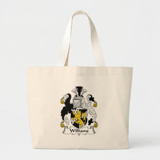Williams Family Crest Large Tote Bag