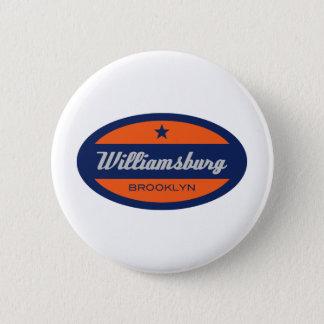 Williamsburg 6 Cm Round Badge