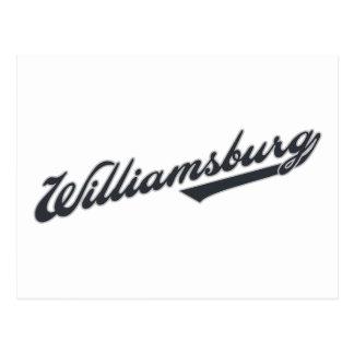 Williamsburg Post Card