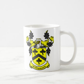 WILLIAMSON Coat of Arms Coffee Mugs