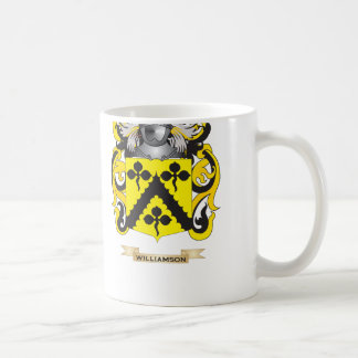 Williamson Family Crest Coat of Arms Coffee Mug