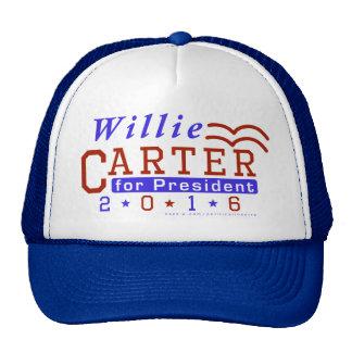 Willie Carter President 2016 Election Democrat Cap