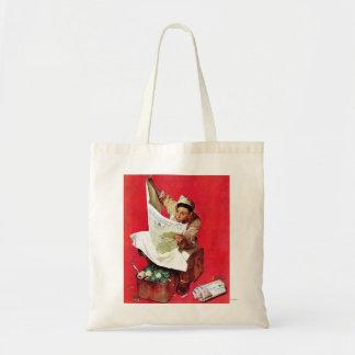 Willie Gillis on K P Tote Bags