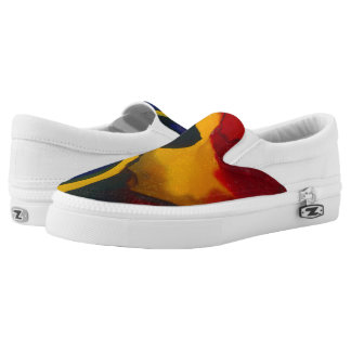 "Willie Scaife ""Abstract 2"" Slip On Shoes"
