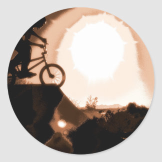WillieBMX The Warm Earth Classic Round Sticker