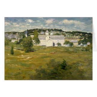 Willimantic Thread Factory by Julian Alden Weir Greeting Card