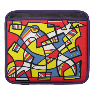 Willing Amusing Bright Keen iPad Sleeve