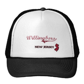 Willingboro New Jersey City Classic Hats