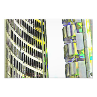 Willis Group and Lloyd's of London Abstract Art Photo Print