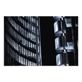 Willis Group and Lloyd's of London Abstract Photographic Print
