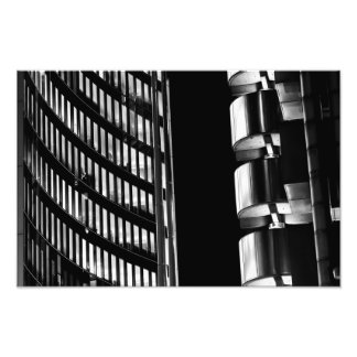 Willis Group and Lloyd's of London Abstract Photo Print