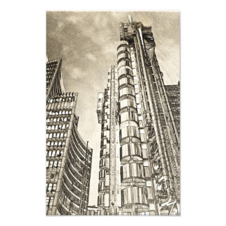 Willis Group and Lloyd's of London Photo Print