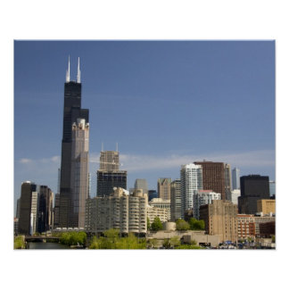 Willis Tower formerly known as the Sears Tower Poster