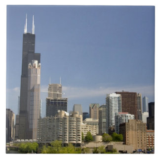 Willis Tower formerly known as the Sears Tower Tile