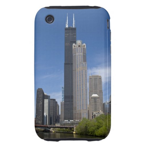 Willis Tower (previously the Sears Tower) looms iPhone 3 Tough Cases
