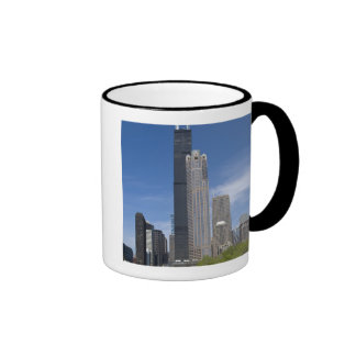 Willis Tower (previously the Sears Tower) looms Mugs