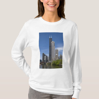 Willis Tower (previously the Sears Tower) looms T-Shirt